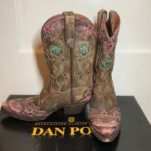 Ladies Dan Post Boots size 8